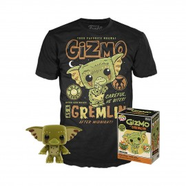 Gremlins POP & Tee set figurine et T-Shirt Gizmo MULTIVERSE GEEK Exclusive
