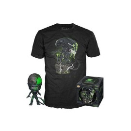 Alien POP! & Tee set figurine et T-Shirt 40th Xenomorph MULTIVERSE GEEK Exclusive