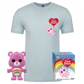 Bisounours POP! & Tee set figurine et T-Shirt Cheer Bear MULTIVERSE GEEK Exclusive