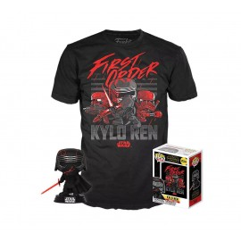 Star Wars Episode IX POP! & Tee set figurine et T-Shirt Kylo Ren (Supreme Leader) MULTIVERSE GEEK Exclusive