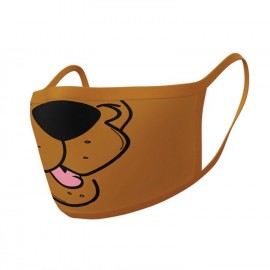 Scooby Doo pack 2 Masques en tissu Mouth